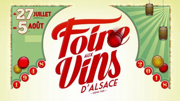 Foire aux vins d'alsace 2018