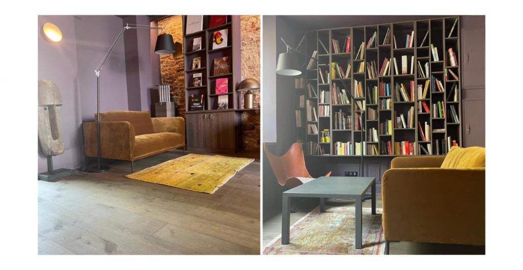 Le Biblio-bar, une nouveauté de la Maison des Têtes